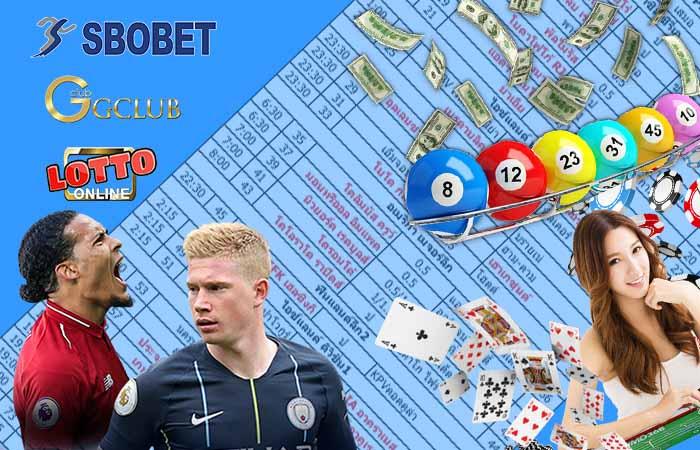 sbobet online lotto baccarat