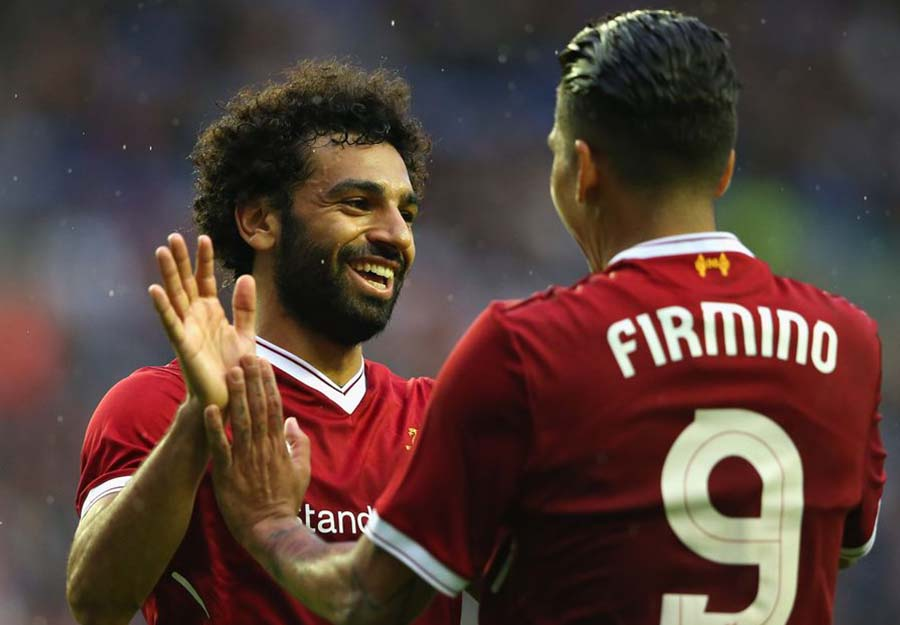 Salah Famino team liverpool