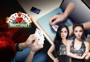 Girl online baccarat play home
